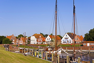 Fishing Cutter, Greetsiel, East Frisia, North Sea, Lower Saxony, Germany