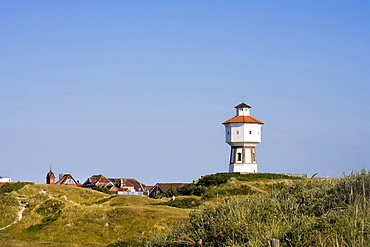 Water tower, Langeoog, East Frisia, North Sea, Lower Saxony, Germany