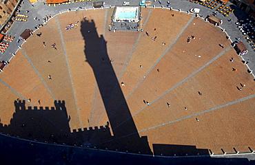 Italien, Toskana, Siena,Piazza del Campo