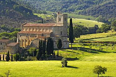 Italien, Toskana, Abbadia San Antimo