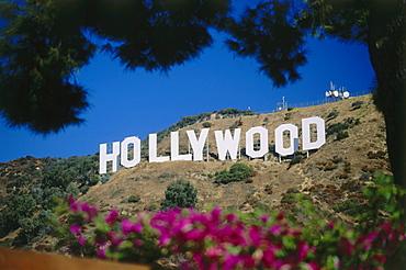 Hollywood Sign, Hollywood, L.A., Los Angeles, California, USA