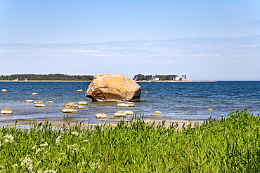 Coastline near the fishing village of Altja, Lahemaa National Park, Estonia, Europe