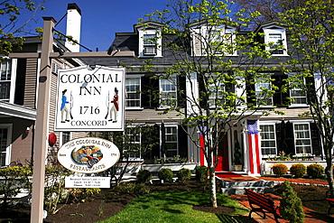 Historic Colonial Inn, Concord, Massachusetts, USA