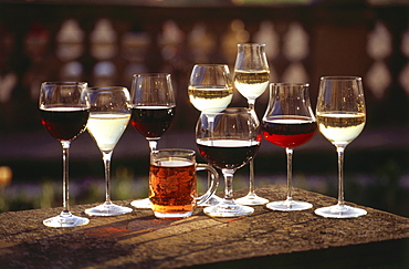 Collection of Wine-Glasses, Germany
