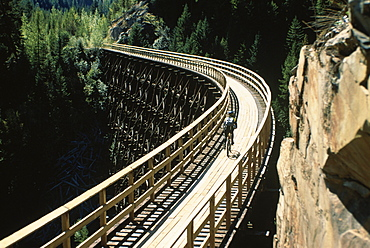 Kettle Railway Track, British Columbia, Canada