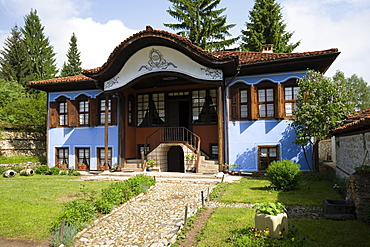 Ljutov house, museum town Koprivstiza, Bulgaria