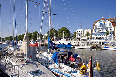 Am Strom, Rostock-Warnemuende, Baltic Sea, Mecklenburg-Western Pomerania, Germany