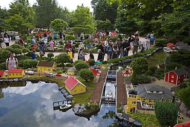 Lego Miniland, Legoland, Billund, Central Jutland, Denmark