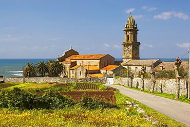 Former monastery, Monasterio de Oia, Oia, RÃŒas Bajas, Galicia, Spain