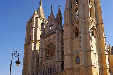 Cathedral, Catedral Santa MarÃŒa La Regla, Leon, Castilla Leon, Spain