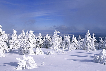 Brocken mountain, summit, Harz Mountains, Lower Saxony, northern Germany, Harz Mountains, Lower Saxony, northern Germany
