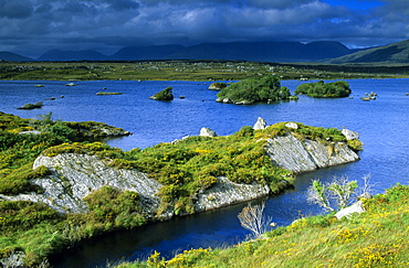 Lough Skannive, Connemara, Co. Galway, Ireland, Europe