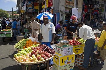Fruit Stand at Port Louis Central Market, Port Louis, Port Louis District, Mauritius