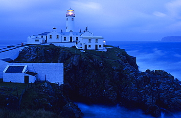 Lighthouse at Fanad Head, Co. Donegal, Ireland, Europe