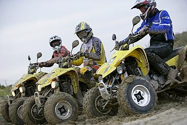 People on Suzuki Quads, Test Grounds, Suzuki Offroad Camp, Valencia, Spain