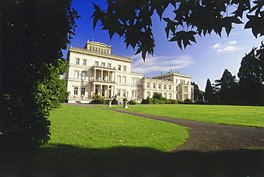 Villa Huegel, Essen, Ruhr Valley, Ruhr, Northrhine Westphalia, Germany