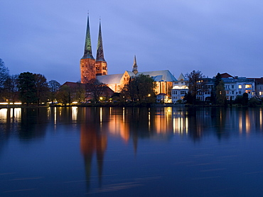 Luebeck Cathedral, Hanseatic City of Luebeck, Schleswig Holstein, Germany
