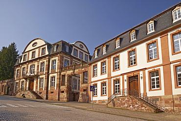Small castle at Schlossstrasse, Blieskastel, Bliesgau, Saarland, Germany, Europe