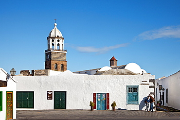 Church Nuestra Senora de Guadalupe, Teguise, Lanzarote, Canary Islands, Spain, Europe