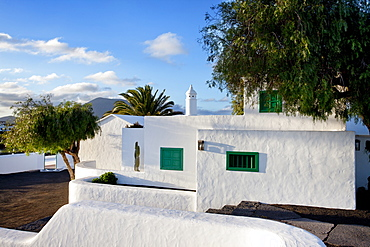 Typical houses, Casa Museo del Campesino, San Bartholome, Lanzarote, Canary Islands, Spain, Europe