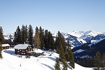 Hotel in the mountains Sonnbuhel, Kitzbuhel, Tyrol, Austria