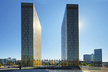 European court of justice at Kirchberg, Luxemburg, Luxembourg, Europe