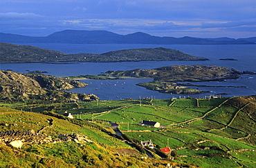Coastal landscape, Derrynane Bay, Ring of Kerry, County Kerry, Ireland
