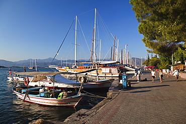 Fethiye marina, lycian coast, Mediterranean Sea, Turkey