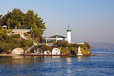 Club Hotel Letoonia, near Fethiye, lycian coast, Lycia, Mediterranean Sea, Turkey, Asia