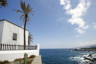Historic town house on the waterfront, Puerto de la Cruz, Tenerife, Canary Islands, Spain, Europe