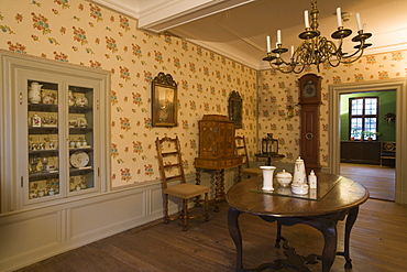 Interior of the Goethe house, Frankfurt, Hesse, Germany