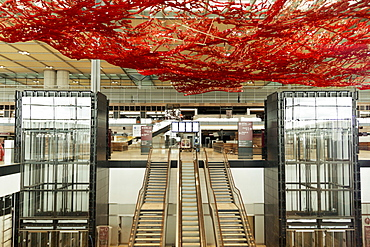 Terminal 1, Airport Berlin Brandenburg, Willy Brandt, BER Airport Schoenefeld, Berlin, Germany