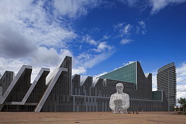 Palacio de Congresos, conference centre and Torre del Agua, Zaragoza, Saragossa, province of Zaragoza, Aragon, Northern Spain, Spain, Europe