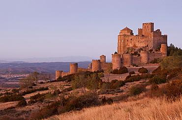 Castillo de Loarre, castle, between 12th till 13th century, provinz of Huesca, Aragon, Northern Spain, Spain, Europe