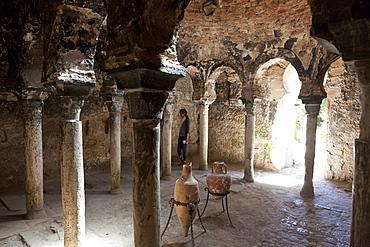 Arabic baths from the 10th century, Banys Arabs, Palma de Mallorca, Mallorca, Spain