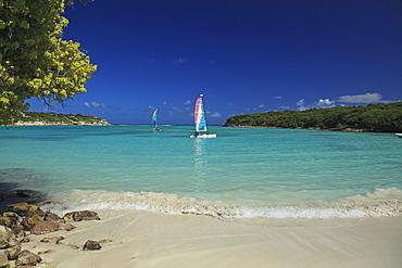 Beach at The Veranda Resort, Antigua, West Indies, Caribbean, Central America, America