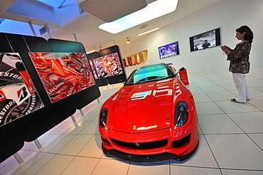 Galleria Ferrari in Maranello near Modena, Emilia-Romagna, Italy