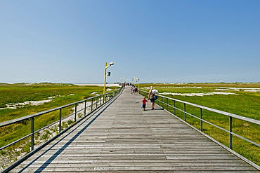 Beach pier of St Peter-Ording, Northern Frisia, Schleswig-Holstein, Germany