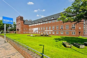 Northsea museum in Husum, Ludwig-Nissen-Haus, Husum, Northern Frisia, Schleswig Holstein, Germany
