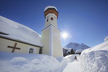 Kuratiekirche St. Maria Magdalena, Gargellen, Montafon, Vorarlberg, Austria