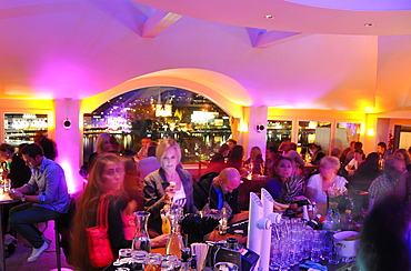 People at the bar of the Metropol hotel, Luzern, Switzerland, Europe