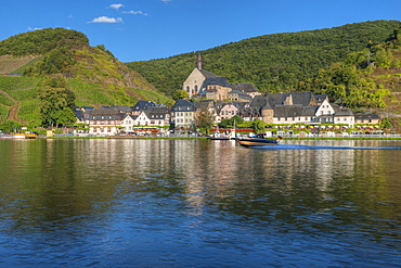 View at Beilstein, Moselle, Rhineland-Palatine, Germany