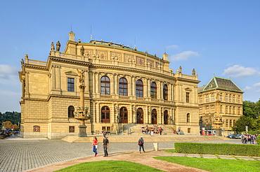 Concert hall Rudolphinum, 19 century, Prague, Middle Bohemia, Czech Republik