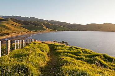 View across the bay at Port jackson, Coromandel Peninsula, North Island, New Zealand