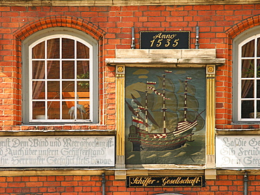 Sailor Society, Hanseatic City of Luebeck, Schleswig Holstein, Germany