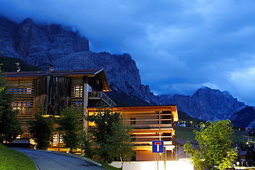 Lagacio Hotel Mountain Residence situated in Kleiner Lagazuoi in the village of S. Cassiano, Alta Badia, Italy