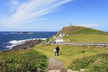 Cape Cornwall, Penwith peninsula, Cornwall, England, United Kingdom