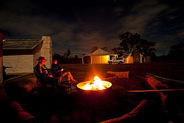 Angorichina Station, Shearers Quarters, Flinders Ranges, South Australia, Australia