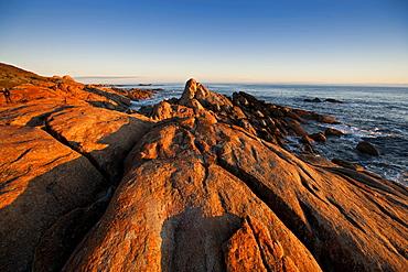 Cape Conran, granite rocks at West Cape, East Gippsland, Victoria, Australia