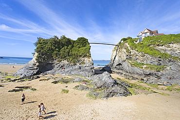 Towan Beach, Newquay, Cornwall, England, United Kingdom